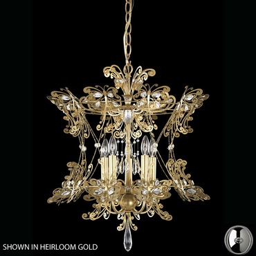Petite Laurelie 5 Light Chandelier