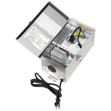 300 Watt 12-15 Volt Multitap Outdoor Transformer by Hadco | TC354-15