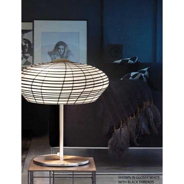 Yuba Table Lamp by Vistosi   LTYUBA45CRNIUL