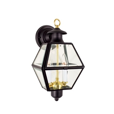 Olde Colony 1063 Outdoor Wall Sconce by Norwell Lighting | 1063-BL-BE