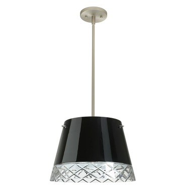 Amelia Solid Pendant by Besa Lighting | FM-1KT-4394BC-SN
