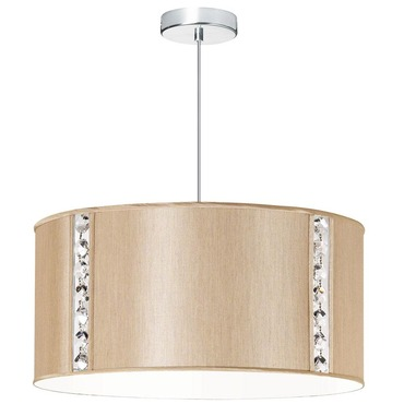 Elise Drum Pendant by Dainolite | 571898-838-PC