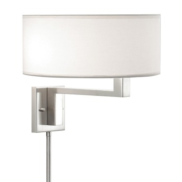 Quadratto Swing Arm Plug-in Wall Sconce