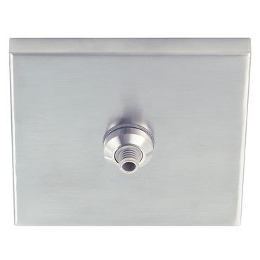 Freejack LED 4 Inch Square Flush Canopy by Tech Lighting | 700FJ4SQS-LED