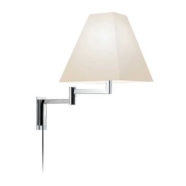 Square Swing Arm Wall Sconce