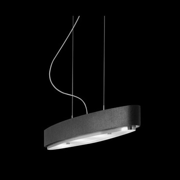 Iris T-2711 Elliptical Pendant Light by Estiluz | 027113702N