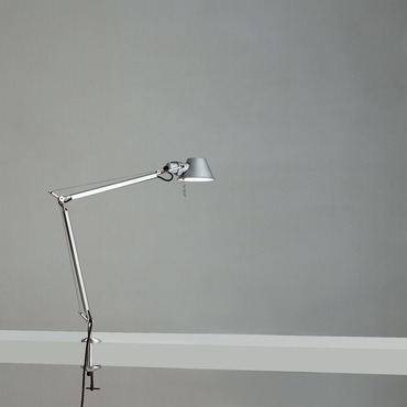 Tolomeo LED Mini Desk Lamp with Clamp by Artemide | TOL0059