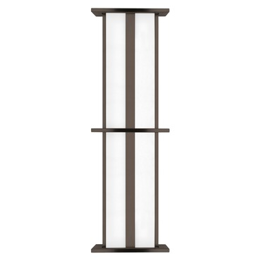 Modular Tubular Large Outdoor Wall Sconce by LBL Lighting | PW532BZ25L1HEW