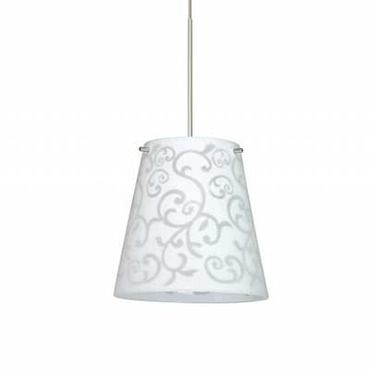 XP Amelia 6 Pendant by Besa Lighting | XP-4477WD-SN