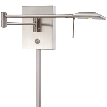 P4328 LED Swing Arm Wall Sconce by George Kovacs | P4328-084