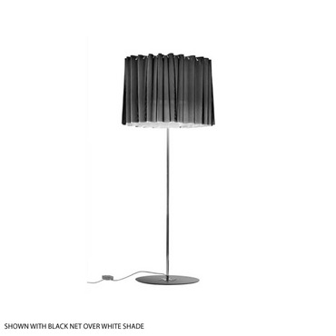Skirt Floor Lamp W / Exterior Net