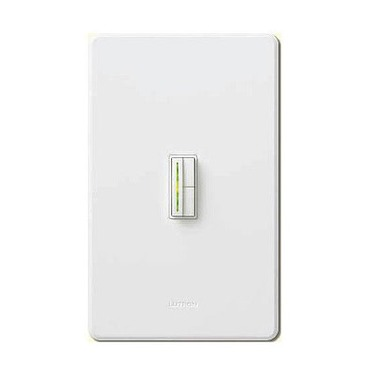 Abella 1000VA Low Voltage Single Pole/ Multi Location Dimmer by Lutron | ablv-1000m-wh