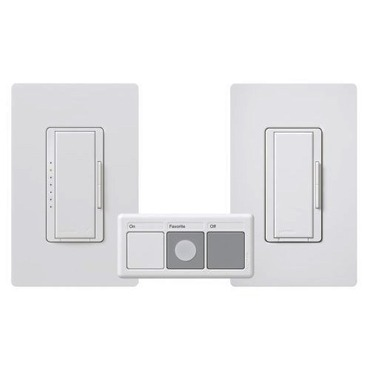 MRF-603THW Maestro 600W Multi Location Smart Dimmer Package by Lutron | MRF-603THW-WH