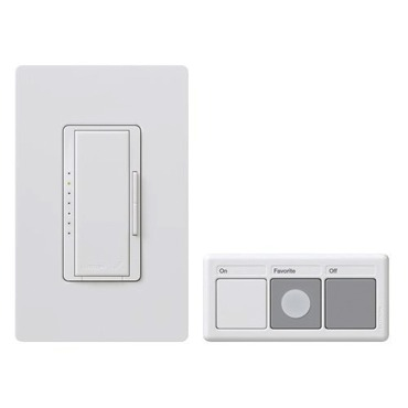 MRF-600MT Maestro 600W Preset Smart Dimmer Package by Lutron | MRF-600MT-WH