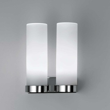Stick 65 CFL IP44 Twin Wall Sconce