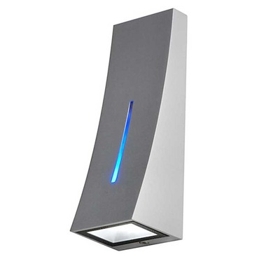 Delwa Blue LED Indoor / Exterior Wall Sconce