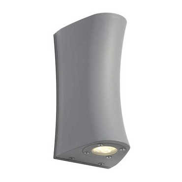 Delwa Curve LED Exterior Wall Sconce by SLV Lighting | 3227290U