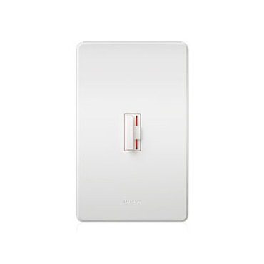 Ceana 1000W Incandescent Single Pole Dimmer by Lutron | CN-10P-WH