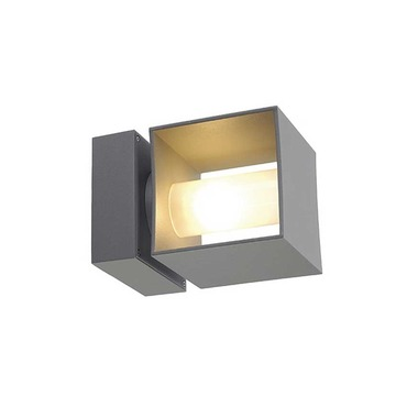 Square Turn G9 Exterior Wall Sconce