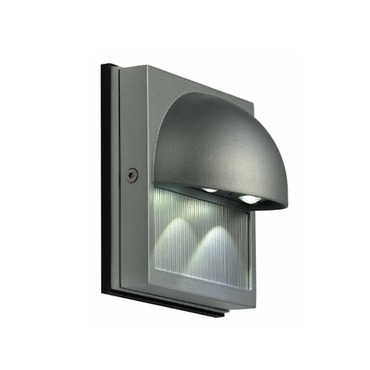 Docu White LED Exterior Wall Sconce