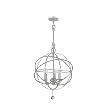 Solaris 5 Ring Chandelier by Crystorama | 9225-OS