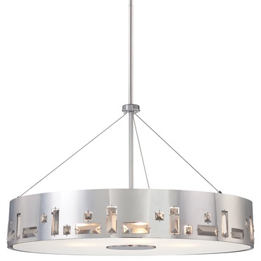 Bling Bang 6 Light Pendant by George Kovacs | P1094-077