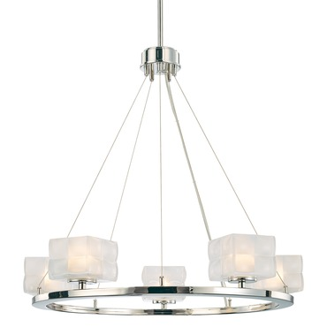 Squared Chandelier by George Kovacs | P1455-613