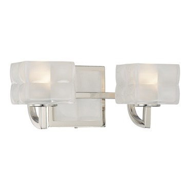 Squared Bath Bar 2-Light