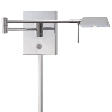 Georges Reading Room LED Triangle Head Swing Arm PlugIn Wall by George Kovacs | P4318-077