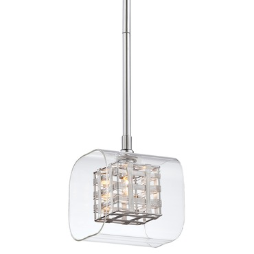 Jewel Box Mini Pendant by George Kovacs | P801-077