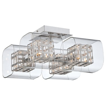 Jewel Box Ceiling Flush Mount