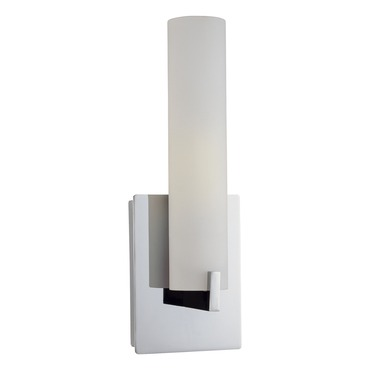 Tube CFL Vanity Wall Sconce by George Kovacs | P5040-077-PL