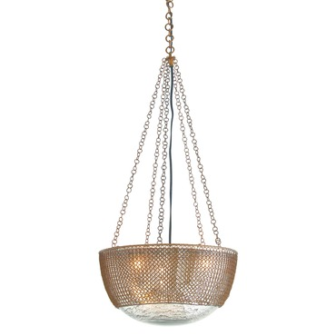 Chainmail 3 Light Suspension by Arteriors Home | AH-DK42043
