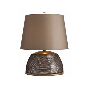 Chainmail Round Table Lamp