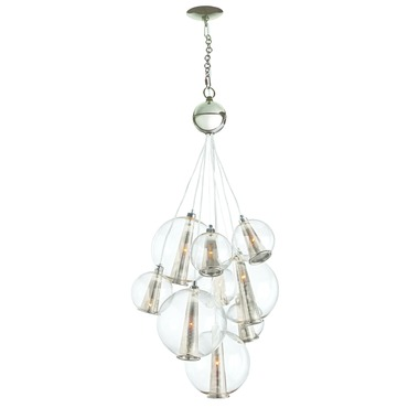 Caviar Adjustable Medium Cluster Suspension by Arteriors Home | AH-DK89907