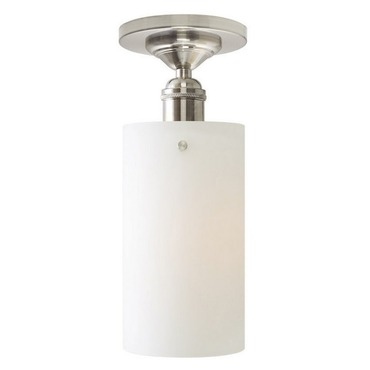 Retro Cylinder CFL Ceiling Flush Mount  by Stone Lighting | CL179OPSNCF18