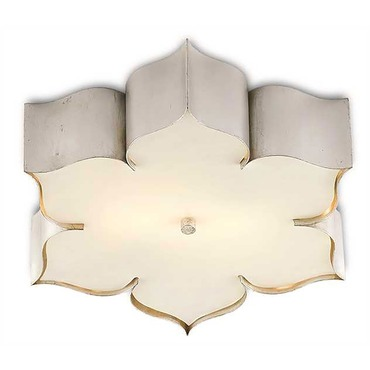 Grand Lotus Flush Mount Ceiling Light