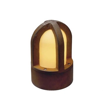 Rusty Cone Outdoor Mini Bollard
