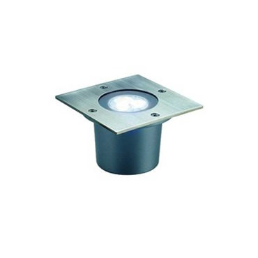 Wetsy Square PowerLED Recessed Ground Fixture by SLV Lighting | 5227421U
