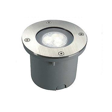 Wetsy Round LED Recessed Ground Fixture by SLV Lighting | 5227431U