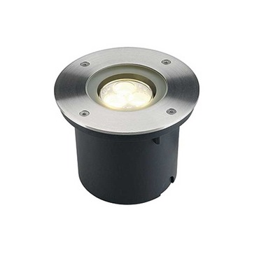 Wetsy Round LED Recessed Ground Fixture