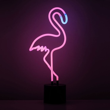 Flamingo Neon Desk Light