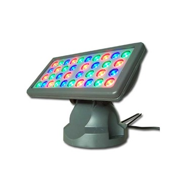 PB 27 Light RGB Outdoor Wall Washer 45 Deg 120V
