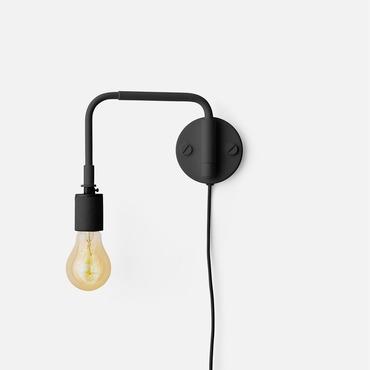 Staple Plug-in Wall Light
