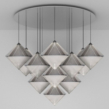 Top Mega Multi Light Pendant