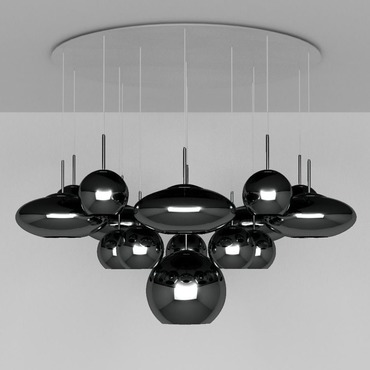 Range Mega Multi Light Pendant