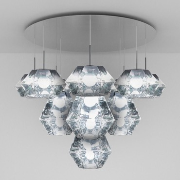 Cut Mega Multi Light Pendant
