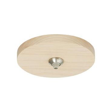 FreeJack LED 4 Inch Round Wood Flush Canopy