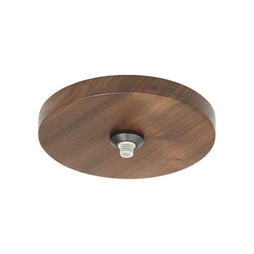 4 Inch Round Flush Wood Canopy