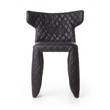 Monster Side Chair with Arms and Embroidery